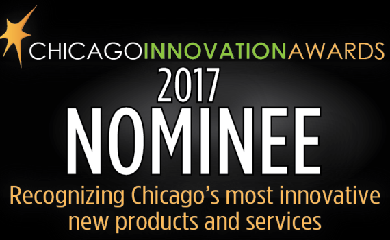2017 Chicago Innovation Awards nominee badge